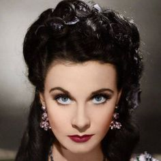 Vivian Leigh in color