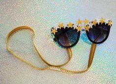 DIY de Carnaval [5]: Óculos estrelado + cordinha!