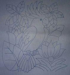 Glass Painting Designs, Paint Designs, Bird Drawings, Easy Drawings, Kerala Mural Painting, Caribbean Art, Batik Art, Painting Lessons, Hand Embroidery Designs