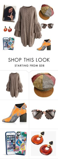 """""""Daniah's choices"""" by janeellie ❤ liked on Polyvore featuring Chicwish, Roberto Cavalli, Kim Kwang, Gentle Monster, Vera Bradley and Lizzie Fortunato"""