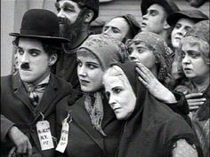 """Scene from Charlie Chaplin's """"The Immigrant"""""""