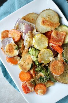 Parmesan Crusted Roa