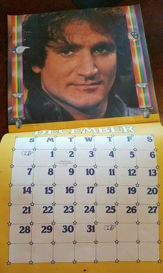 Mork - 1980 Mork & Mindy calendar