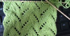 Lace Knitting Pattern Braided Stitch by felicia Lace Knitting Stitches, Lace Knitting Patterns, Knitting Blogs, Arm Knitting, Knitting Charts, Lace Patterns, Knitting Designs, Stitch Patterns, Knitting Projects