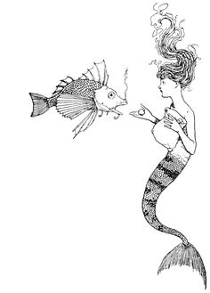 Art by W. H. Robinson (1917) from the book, HANS ANDERSEN'S FAIRY TALES.