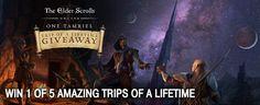 ELDER SCROLLS TRIP OF A LIFETIME SWEEPSTAKES