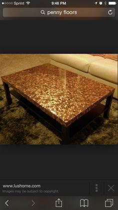 Penny table diy