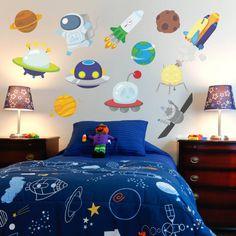 Space Set Wall Sticker