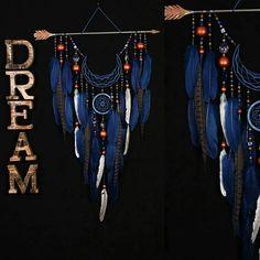 IN STOCK Arrow Dreamcatcher Moon Dreamcatcher blue