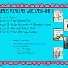 Here are the vocabulary word cards for Unit 3 in the Journeys Reading Series.  My students use these everyday to build and enhance their vocabulary...