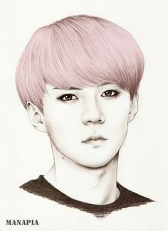 Cotton Candy Sehun by manapia on deviantART