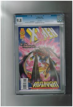 X-MEN #53 CGC 9.8 Great Modern Age find! First Onslaught appearance! http://r.ebay.com/bUBJl8