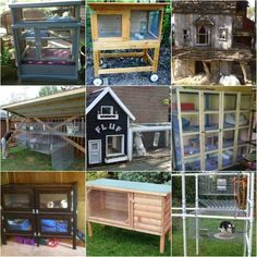 18 DIY Rabbit Hutch Ideas And Designs | Raising rabbits is a great way to make money and have a supply of food. If you are interested in raising rabbits at home, then you will want to look at these DIY rabbit hutch ideas and designs.