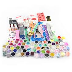 Acrylic Nail Kit for Beginners 28 Items - free shipping worldwide