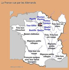 La France vue par les Allemands