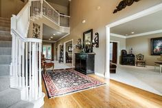 Entry Staged by Home Staging Services of North Tx - Vickie Harvey