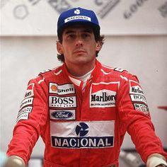 Ayrton - The King of motor racing.