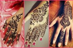 Back Mehendi Designs