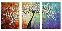 Amoy Art- Hand Painted Knife Modern Canvas Wall Art Flora... https://smile.amazon.com/dp/B014R9QC74/ref=cm_sw_r_pi_dp_x_qymoybMPXVF73