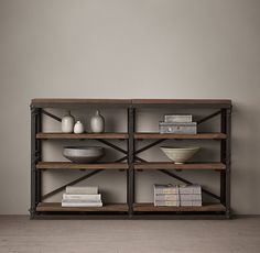French Library Console by RH