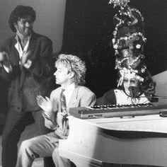 George Michael, Rod Stewart, Elton John