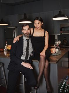 My good friends Reika Yo and Jesse Alexander! (How this real couple gets through hard times —and juggles work with real life...via Refinery 29)
