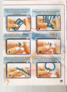 Aqui você encontra bordados a mão, crochê, trico e reciclagem .