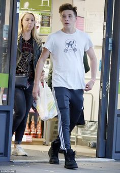 Snap back to reality: Brooklyn Beckham resumed everyday life on Wednesday with a trip to t...