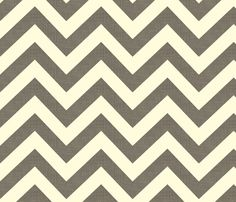 On the back of my bookshelves? chevrons fabric by holli_zollinger on Spoonflower - custom fabric