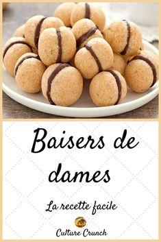 Nutella Macarons, Vegan Macarons, Pistachio Macarons, Macaron Flavors, Macaron Recipe, Pumpkin Recipes, Cookie Recipes, Dessert Recipes, Italian Christmas Cookies