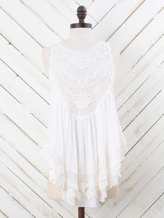 Altar'd State Timeless Lace Tank