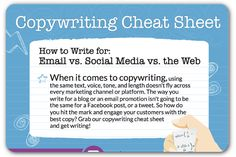 A cheat sheet for online content | Articles | Home