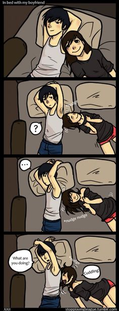 Cuddling! Me and Doll (Comic, I think I'm in love with a Derp)