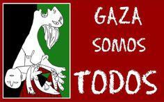 #GazaUnderAttack #PalestinaSomosTodos