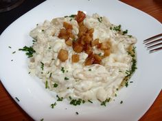 Make Slovakian food (halušky, pirohy, holubky.) in honor of St. Rostislav, the Prince of Great Moravia on his feast day May 11 Slovak Recipes, Czech Recipes, Ethnic Recipes, Slovakian Food, Sheep Cheese, Cooking Recipes, Healthy Recipes, Looks Yummy, No Cook Meals