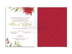 Προσκλητήρια γάμου, χριστουγεννιάτικο προσκλητήριο, annassecret, Χειροποιητες μπομπονιερες γαμου, Χειροποιητες μπομπονιερες βαπτισης