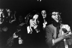Not published in LIFE. Fans at the first Beatles concert in America, Washington, DC, Feb. 11, 1964