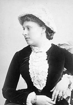 9th child of Prince Albert (1819-1861) & Queen Victoria (1819-1901) & Wife of Prince Henry Maurice of Battenberg (1858–1896). Princess Beatrice Mary Victoria Feodore (1857-1944). After a short honeymoon Beatrice & her husband returned to Queen Victoria's side.  Beatrice's love for Henry, like that of her parents, seemed to increase the longer they were married. Beatrice & Henry travelled only to make short visits to his family.