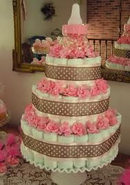 This is a little extreme, but could make a smaller version for a baby shower...