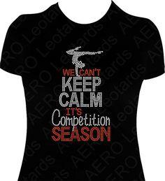 Gymnastics Rhinestone T-shirt Gymnast Bling by AEROLeotards