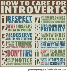 I don't think of myself as an introvert, but so many of these apply to me that I have to wonder.