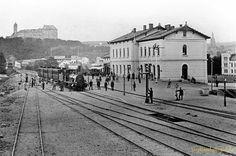 Die Anfangzeiten 1900 die entstehung des Bahnhof's in Greiz Germany Thüringen
