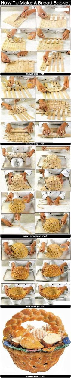 How To Make A Bread Basket
