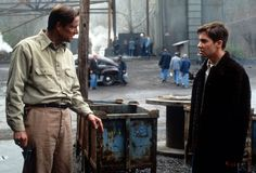 Still of Chris Cooper and Jake Gyllenhaal in October Sky (1999)