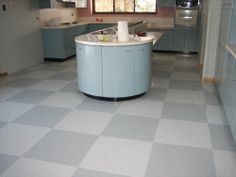 VCT tile care