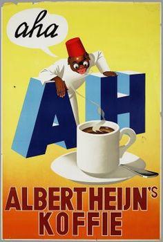 Dutch koffie/coffee add Albert Heijn: I love Albert Heijn!!!! They make great salads:)