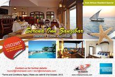 Zanzibar: A Sea of Surprises with Rickshaw Travels