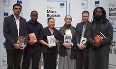 Sunjeev Sahota, Chigozie Obioma, Hanya Yanagihara, Anne Tyle, Tom McCarthy and Marlon James.