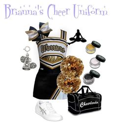 Brianna Knight's Cheer Uniform by elizabethcooke on Polyvore featuring polyvore fashion style Asics