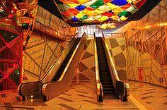 The World's Best Photos of olaias and taveira Metro Station, World Best Photos, Art World, Cool Photos, Architecture, Design, Decor, Lisbon, Arquitetura